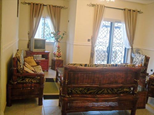 image du bien  : Appartement meublé de 03 chambres à  louer à  Mvan