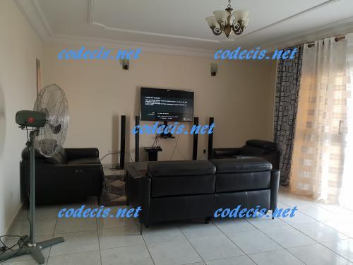 image du bien  : Appartement meublé de 02 chambres à louer à Omnisport , Yaoundé
